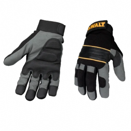 Dewalt DPG33L Power Tool Gel Gloves Black / Grey Large